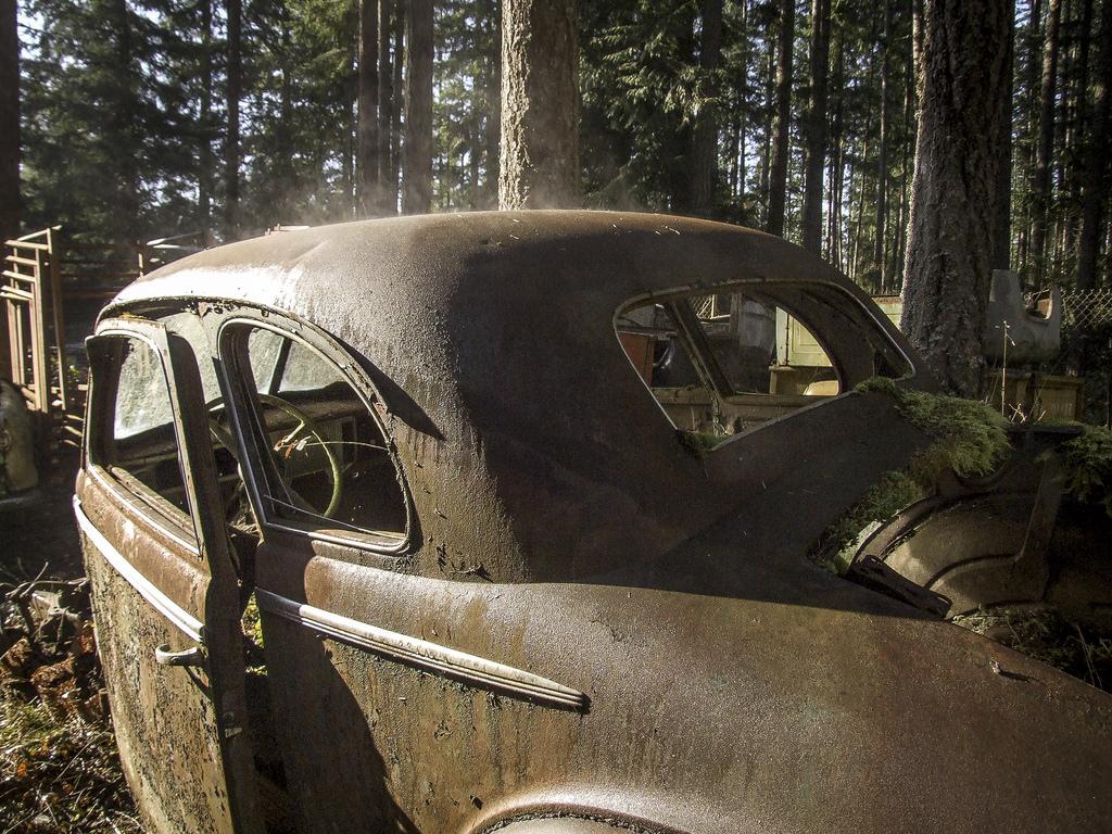 Кладбище машин в Америке