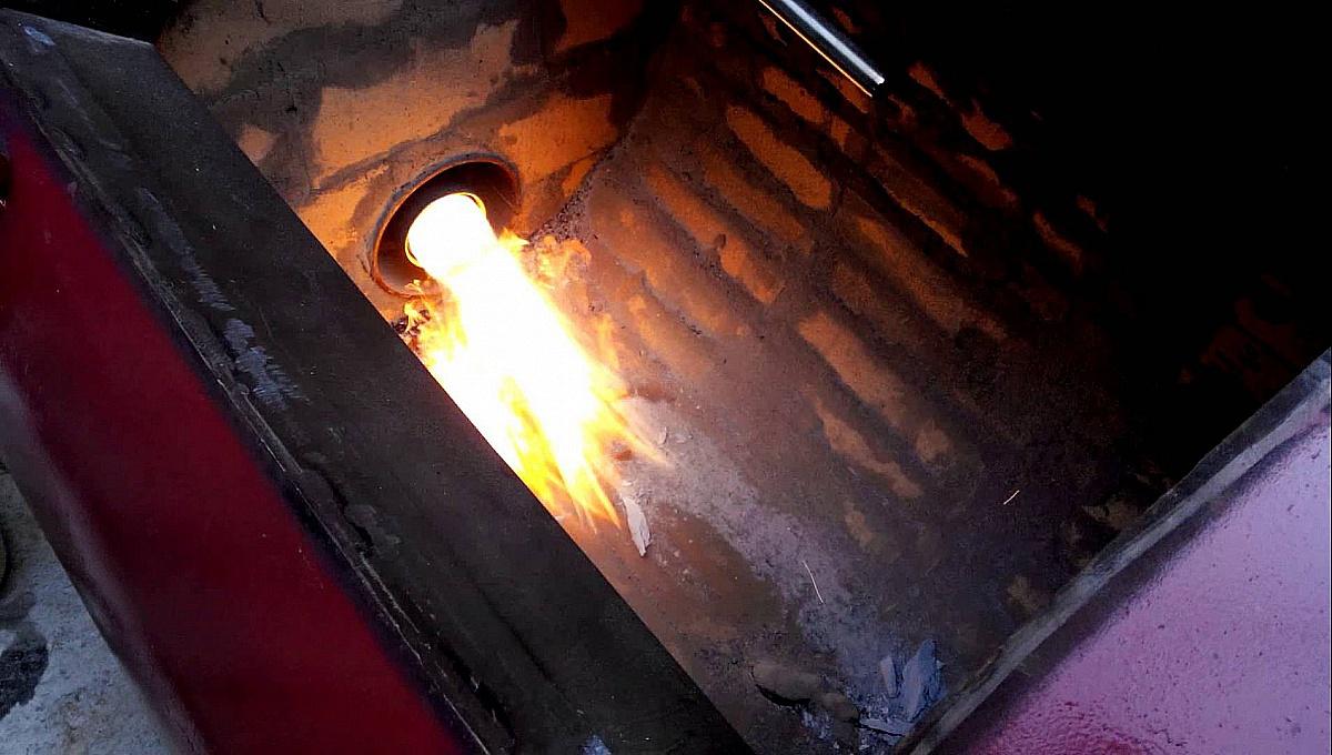 Пиролизная печь для мусора своими руками