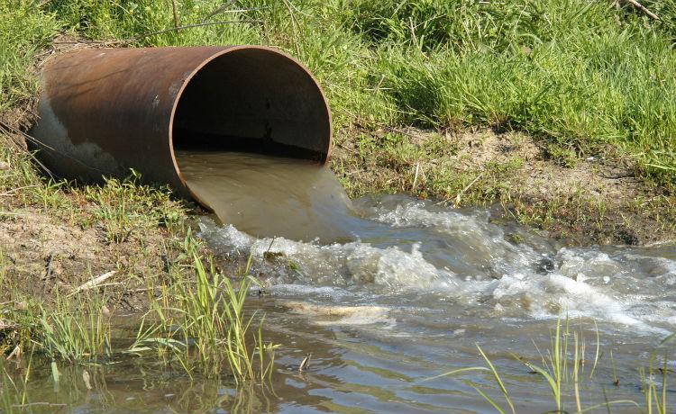 Загрязнение реки