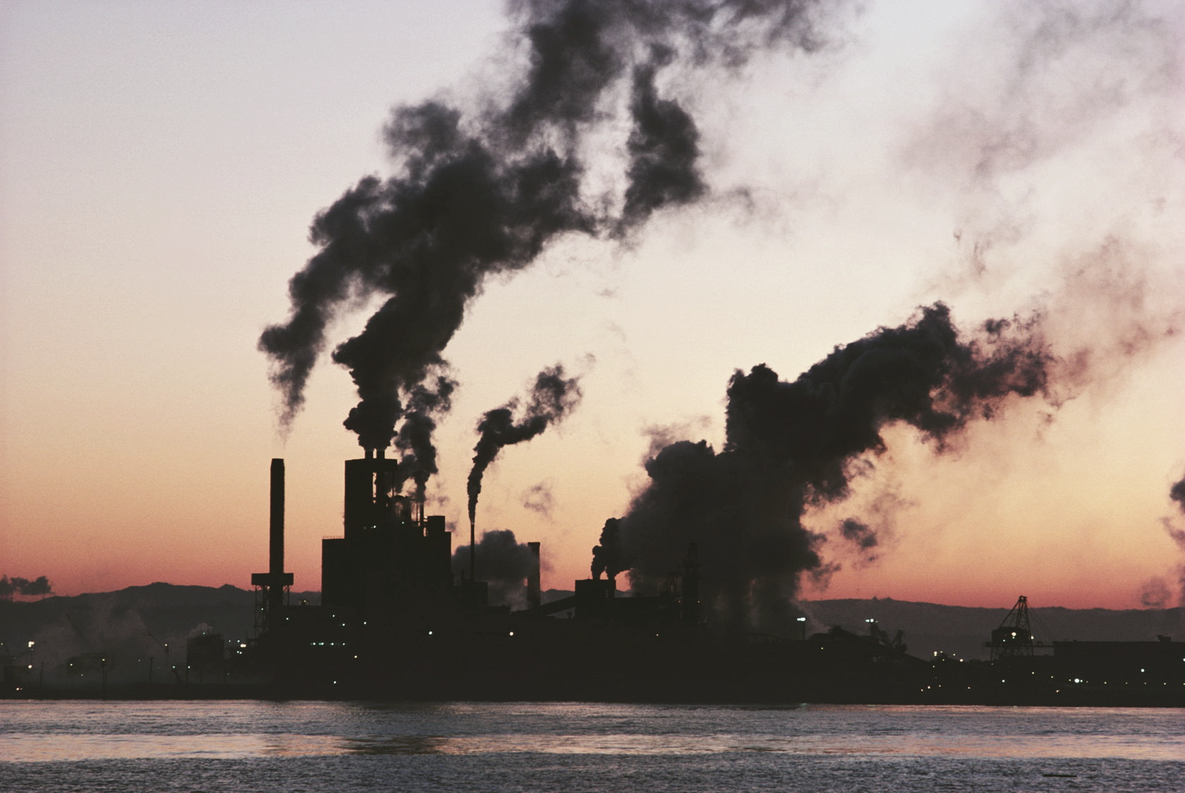 антропогенное загрязнение атмосферы
