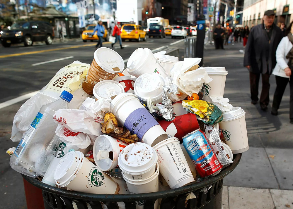 сдача мусора