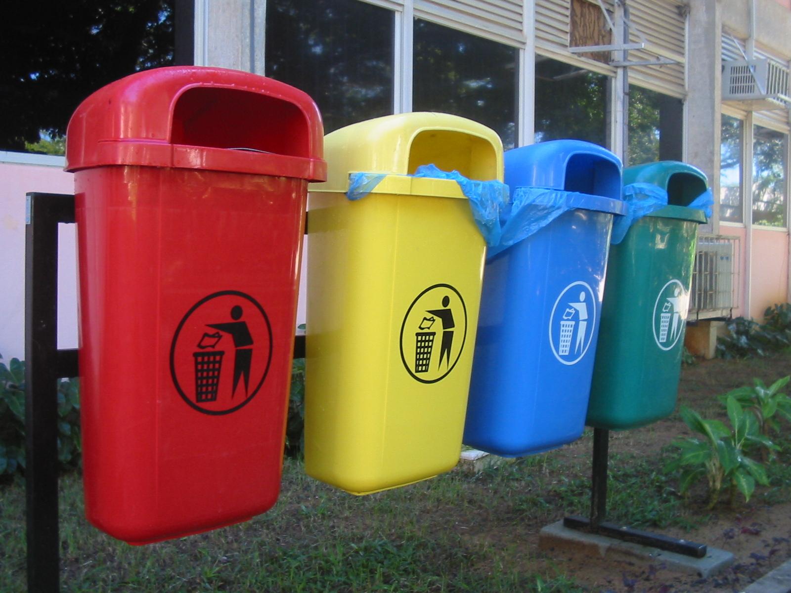 Сортировка мусора на государственном уровне