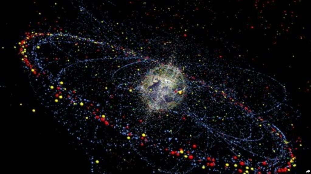 что такое космический мусор