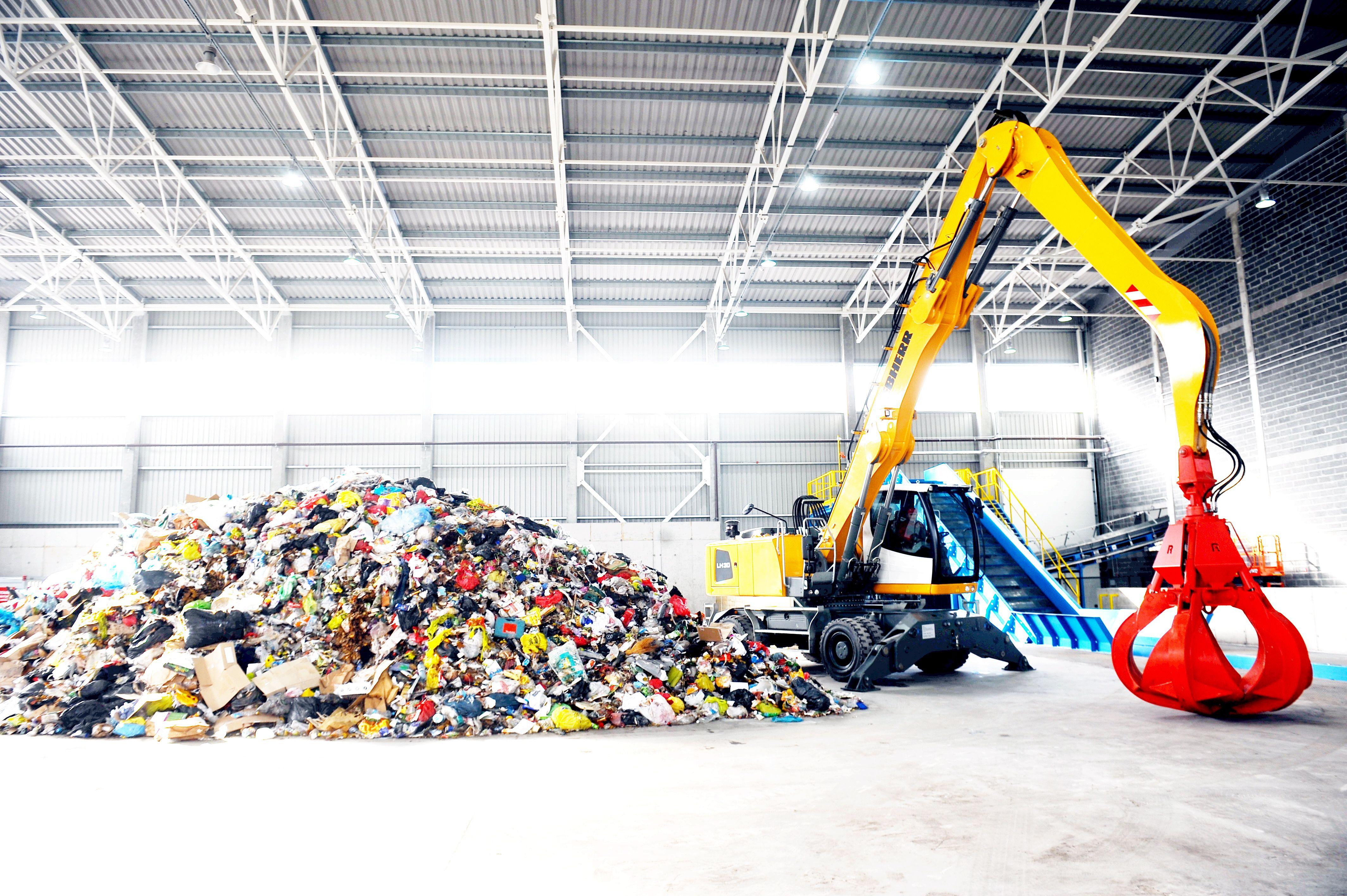 места временного хранения отходов производства