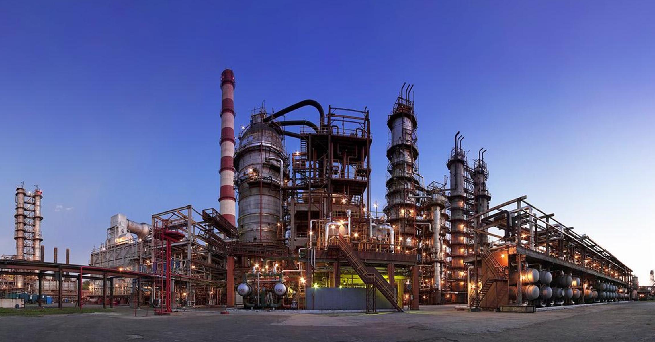 Завод по изготовлению бензина