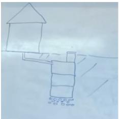 схема месторасположения на участке домовладения выгребной ямы