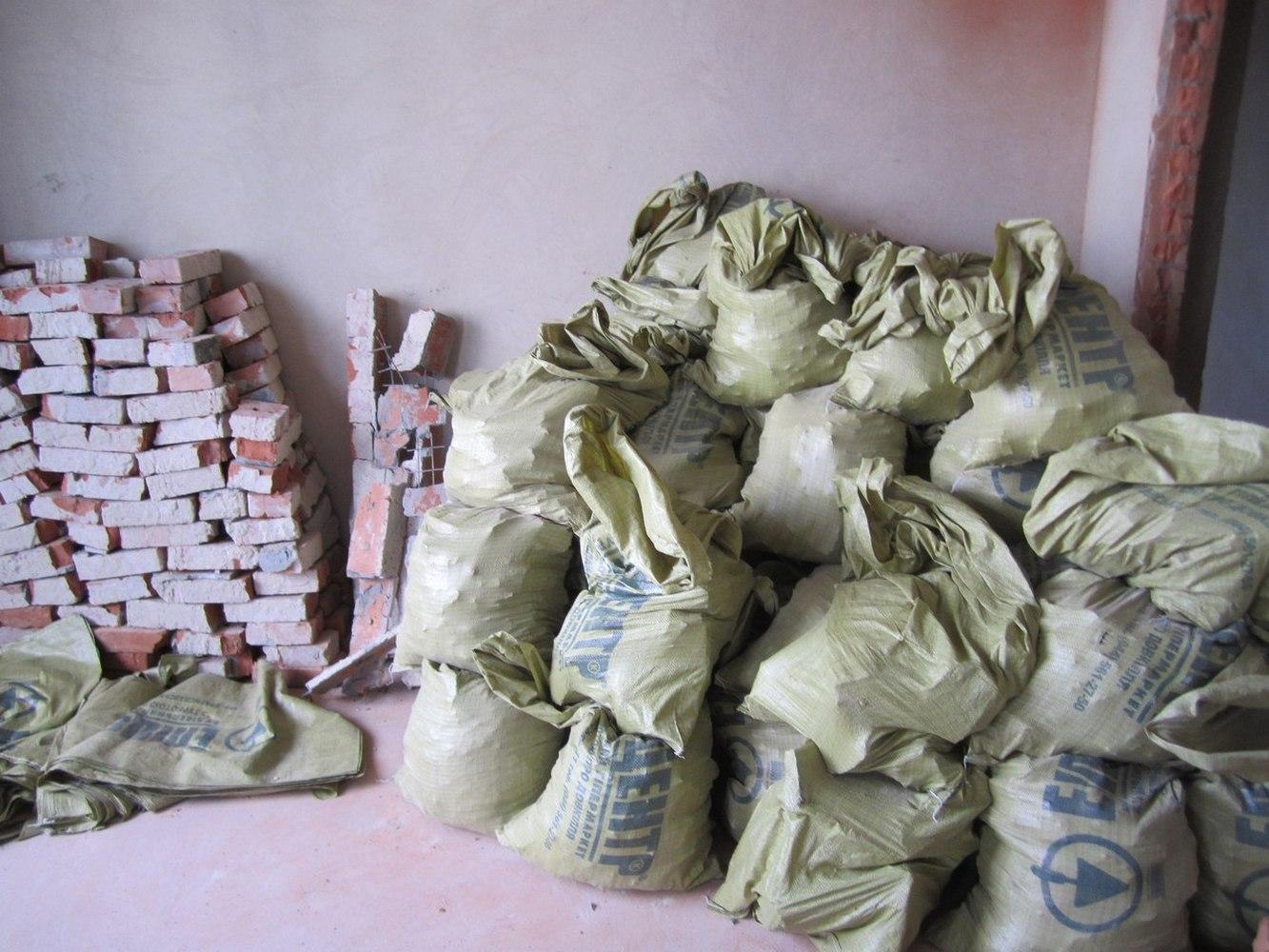мешки со строительным мусором
