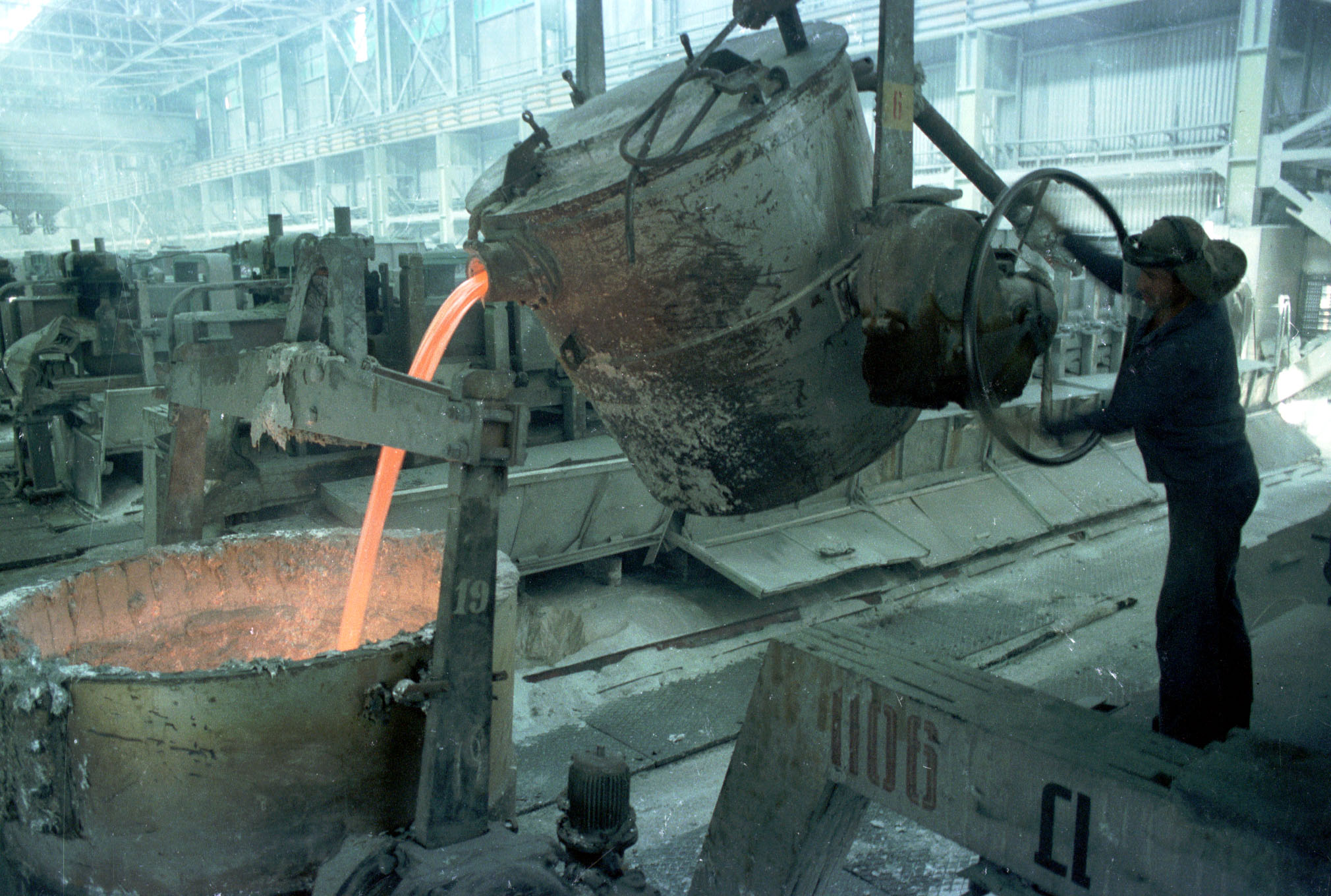 производство алюминия