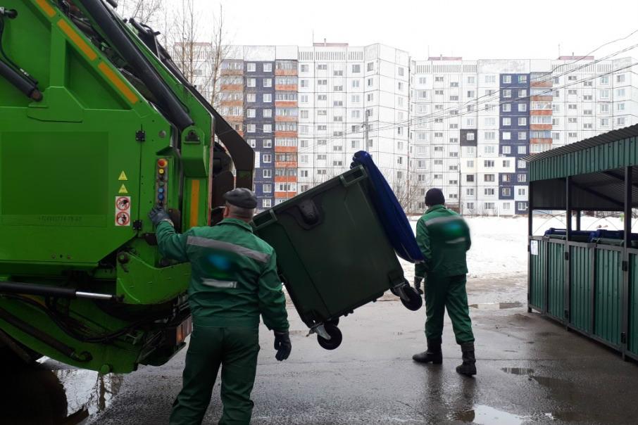 Вывоз мусора компанией