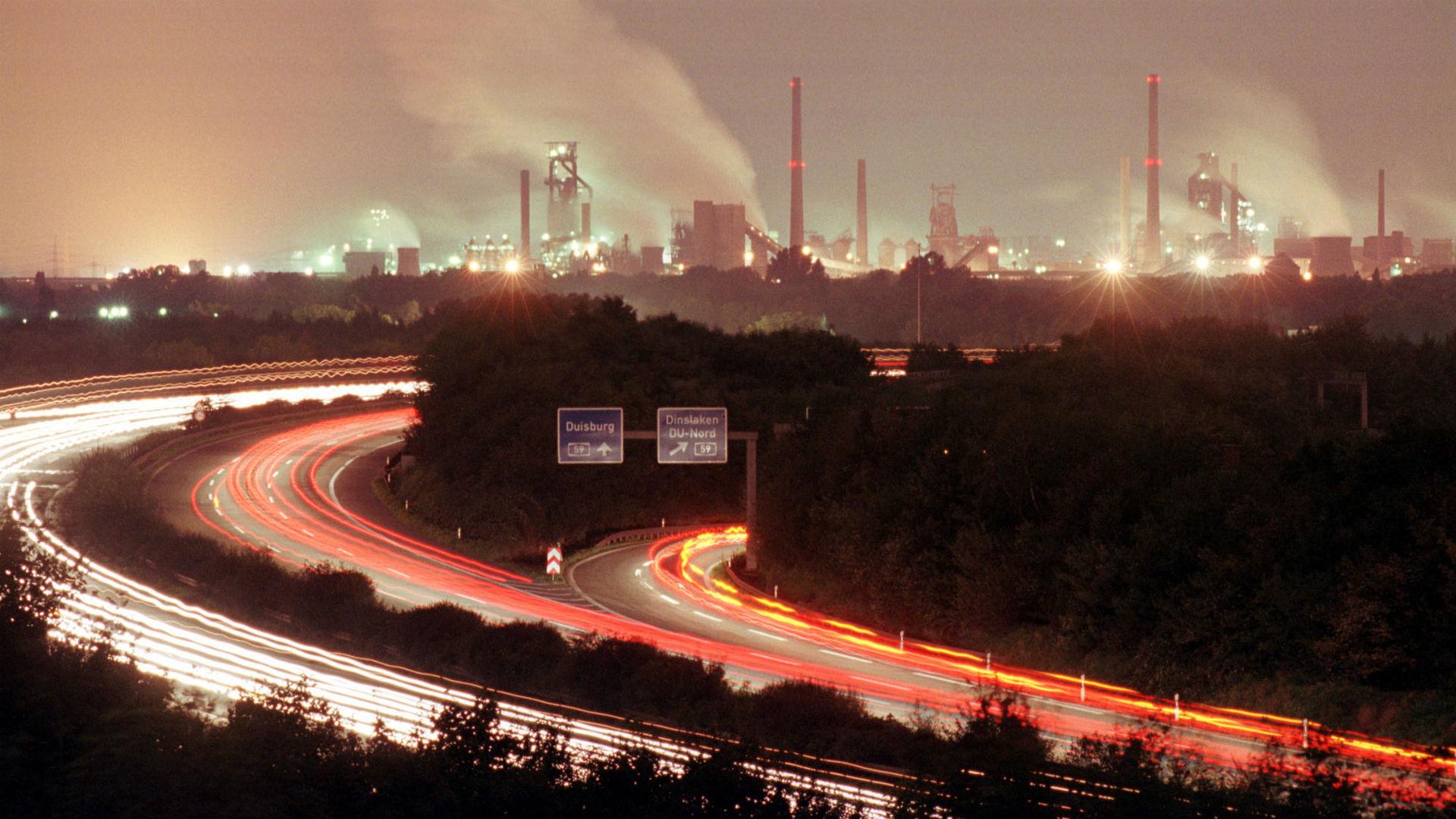 световое загрязнение города