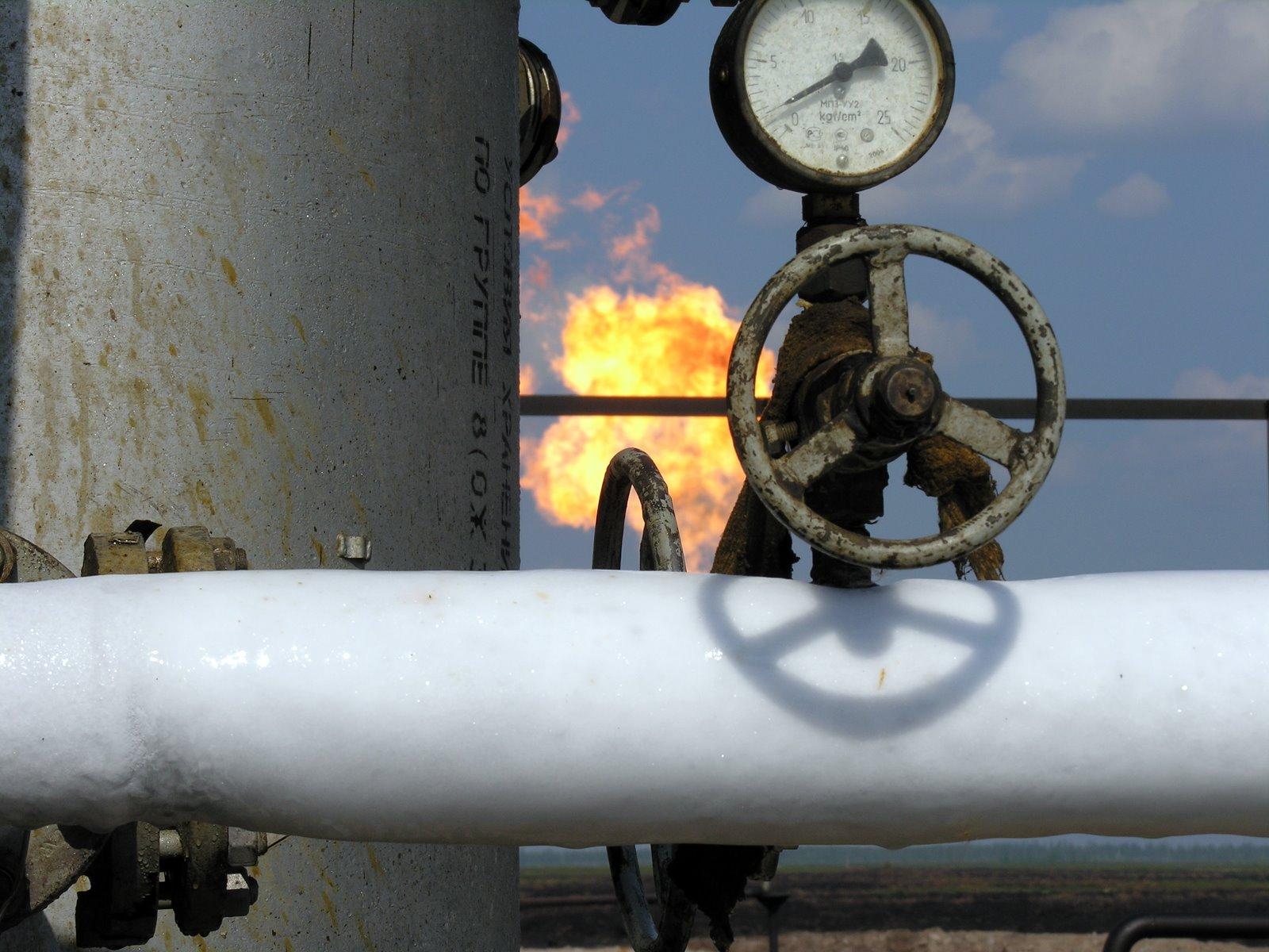 передача газа по трубе