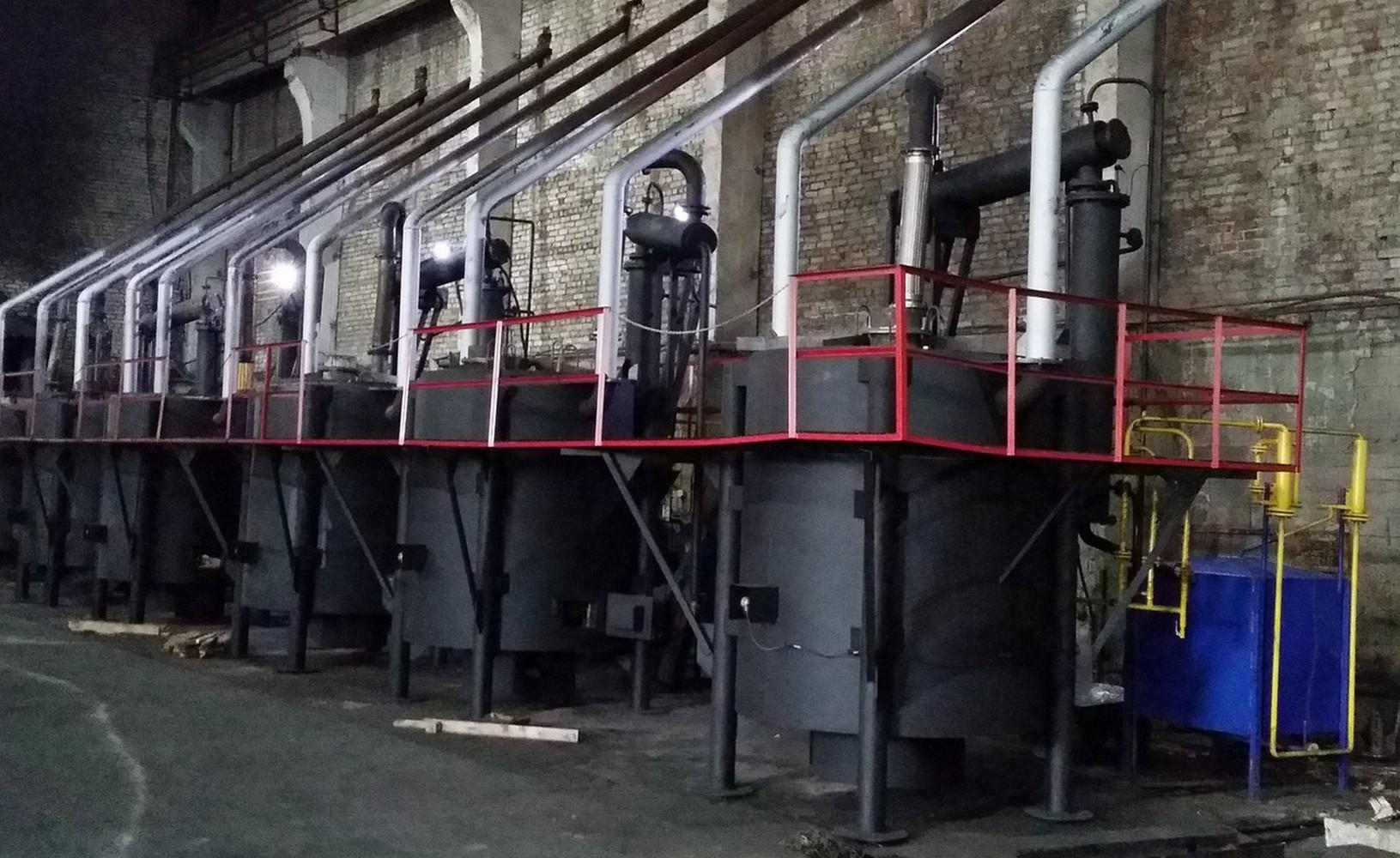 установка для утилизации нефтешламов