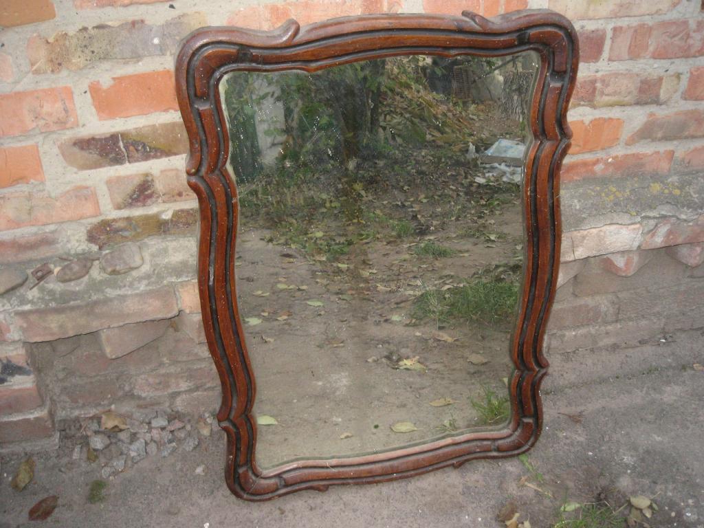 Утилизация старого зеркала