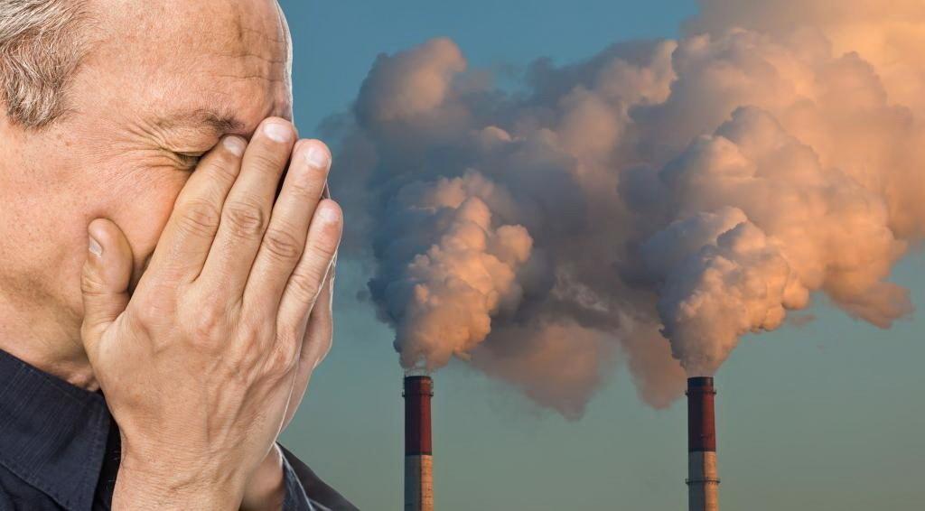 Выбросы в атмосферу портят здоровье людей
