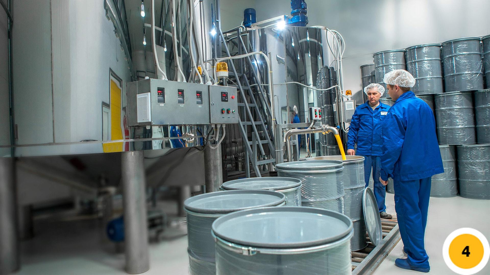 Промышленная переработка меда