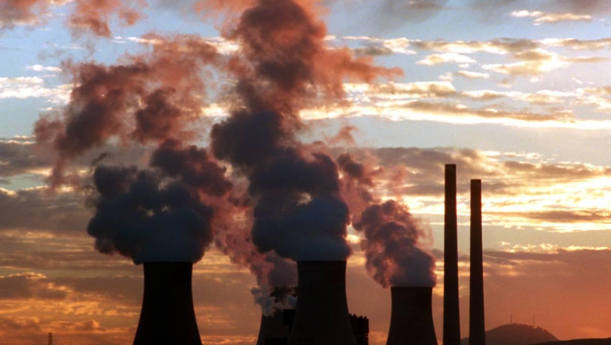 Промышленные предприятия засоряют воздух