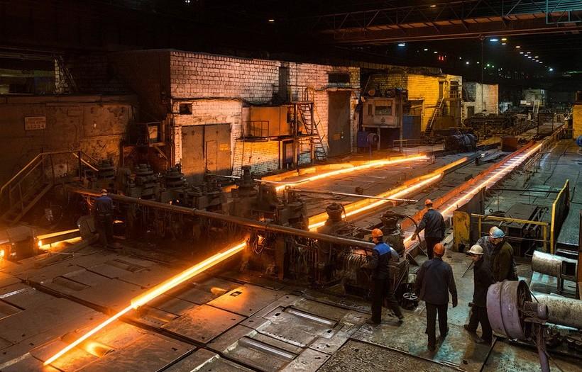 Черная металлургия страдает от экологических проблем
