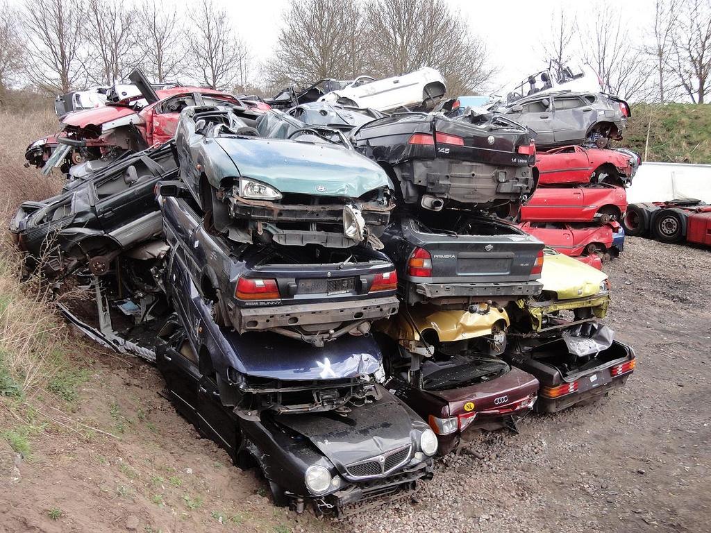 Утилизированные авто