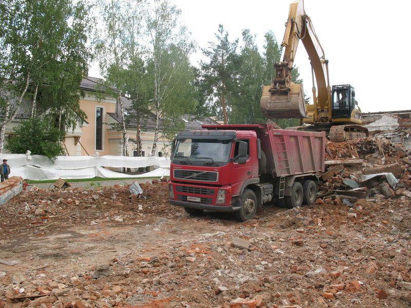 Подъезд транспорта к месту хранения мусора