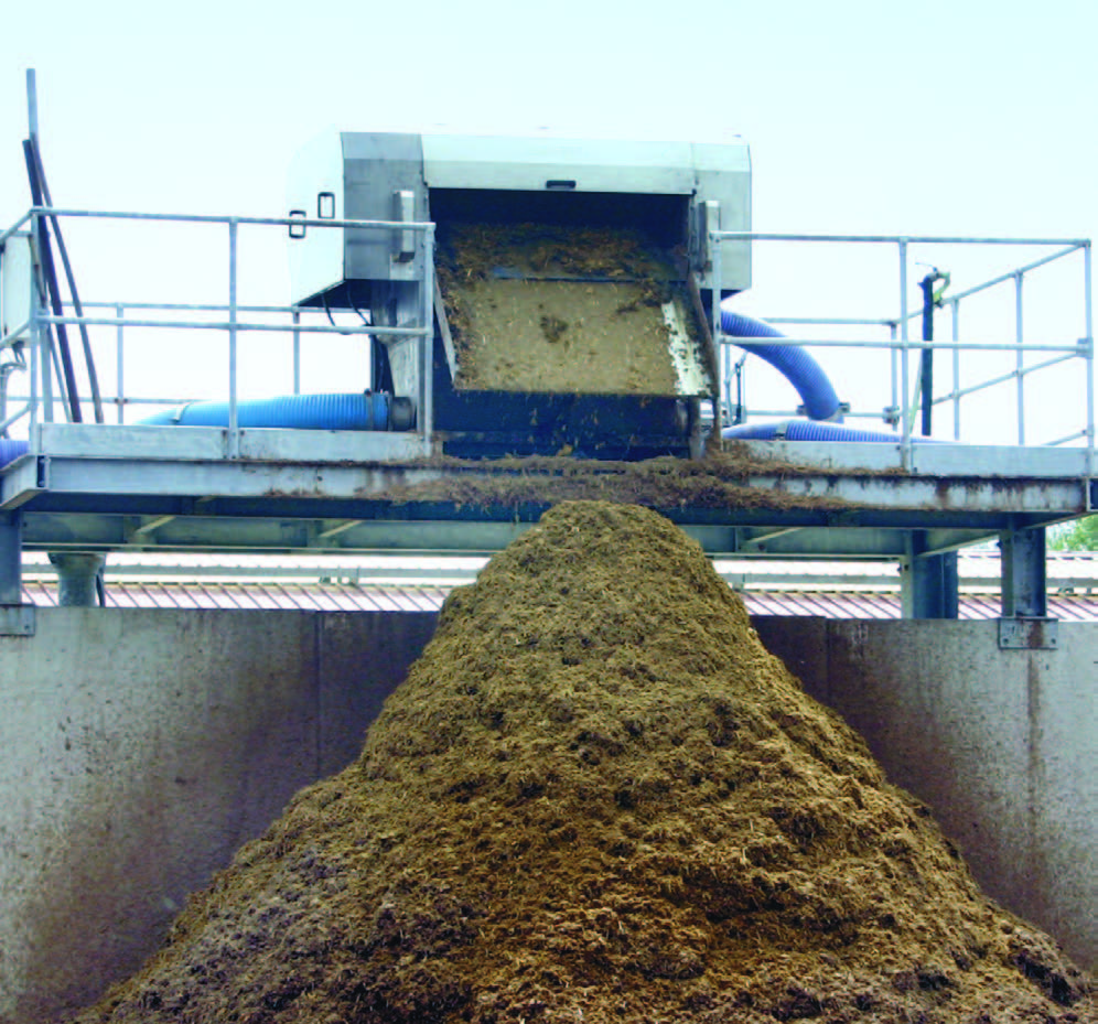 Процесс утилизации навоза