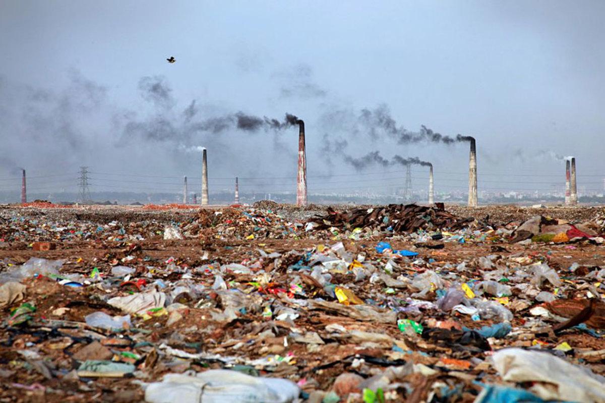 Антропогенные отходы