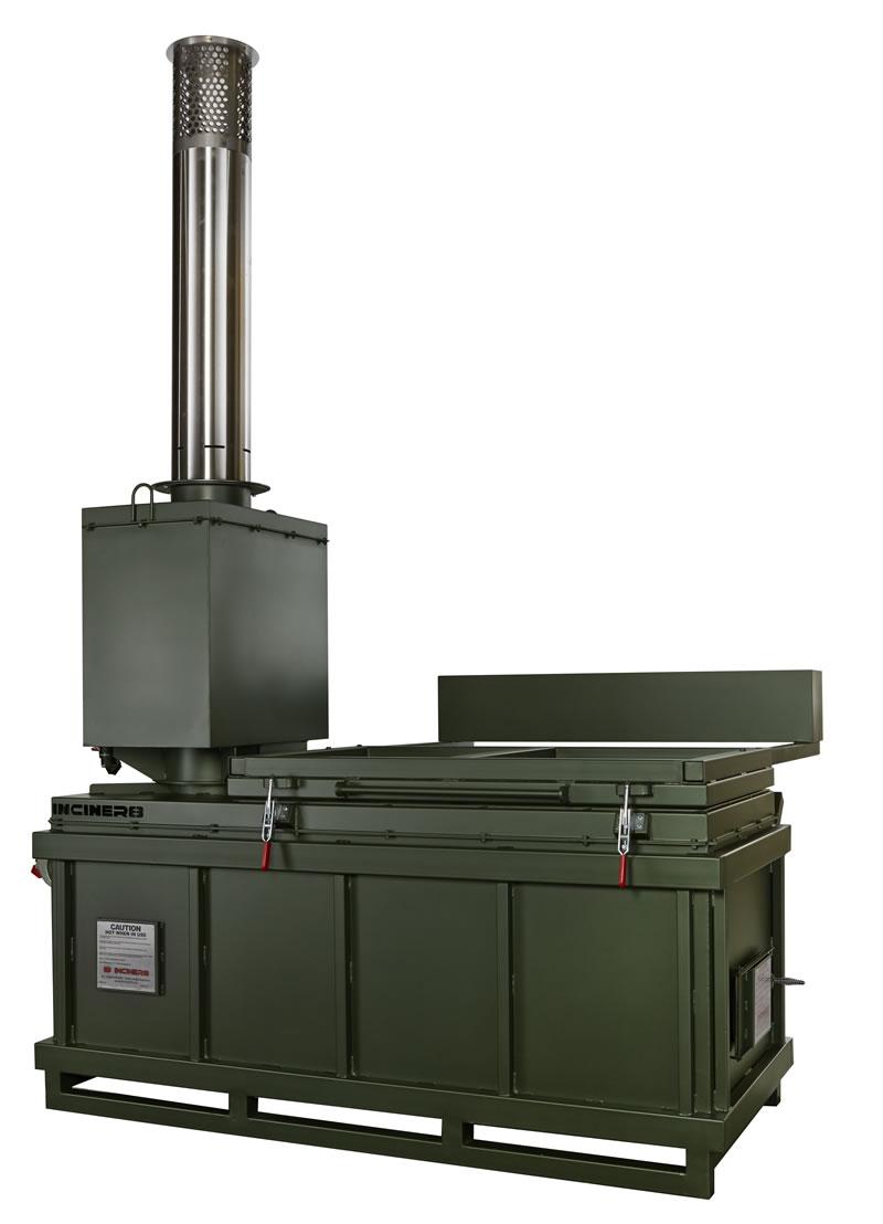 Инсинератор для сжигания мусора