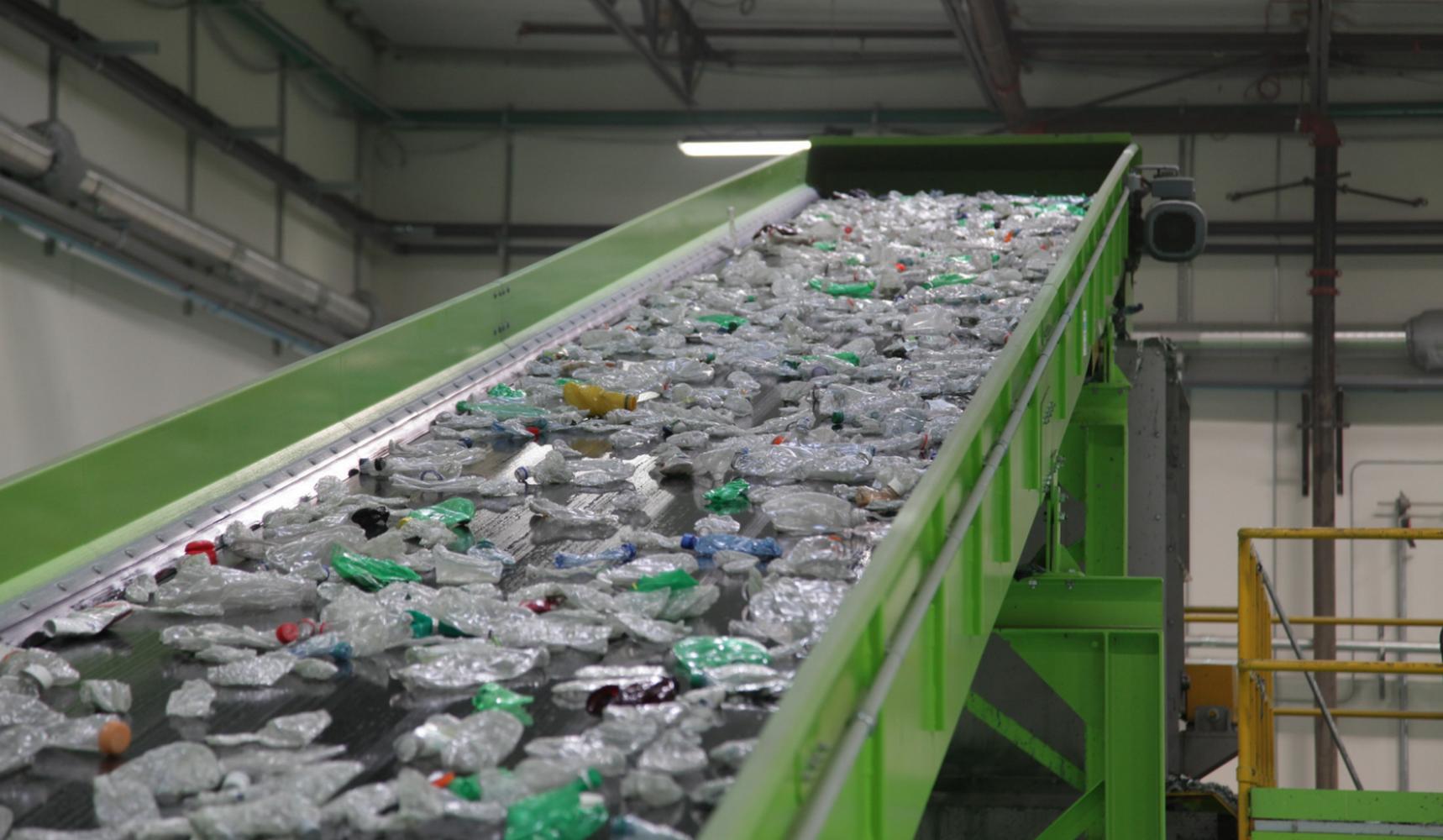 линия по переработке пластиковых отходов