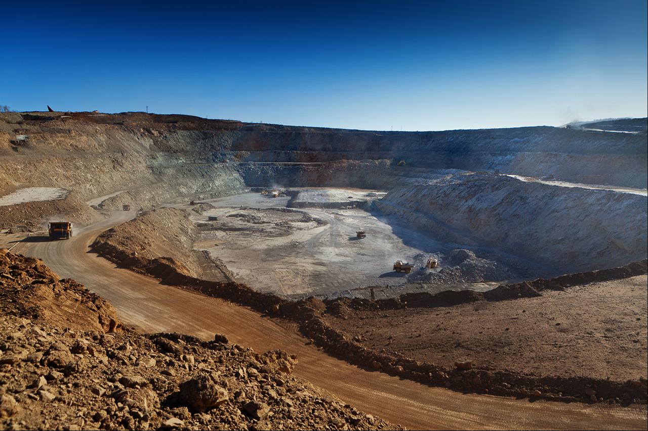 Добыча полезных ископаемых как источник загрязнения