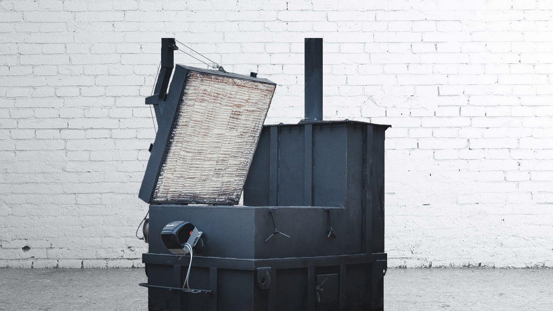 печь для сжигания древесных отходов