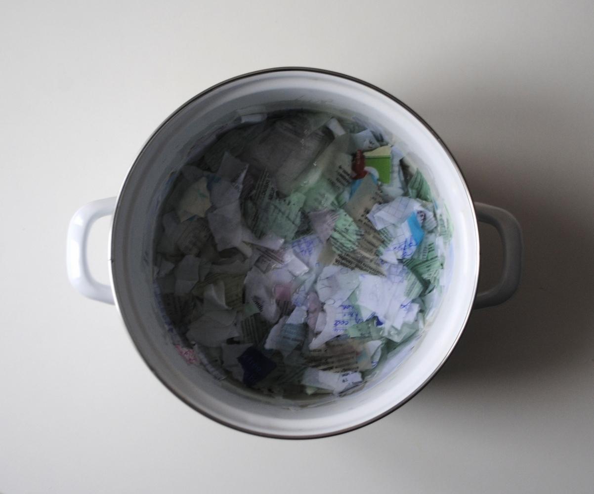 переработка бумаги в домашних условиях
