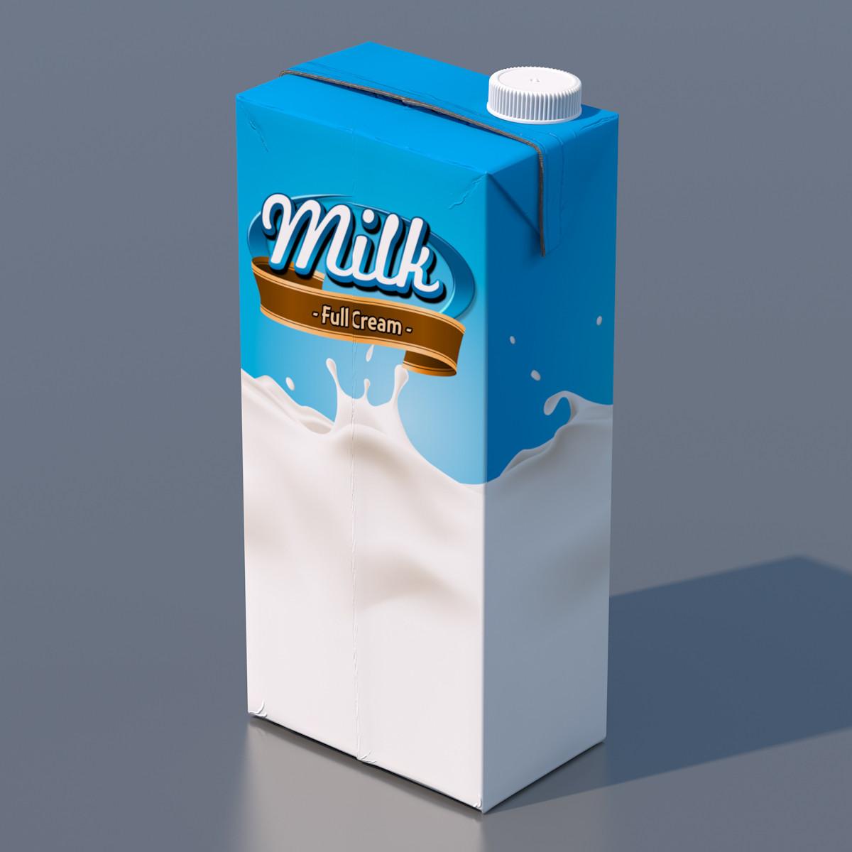 Пакет от молока Тетра Пак