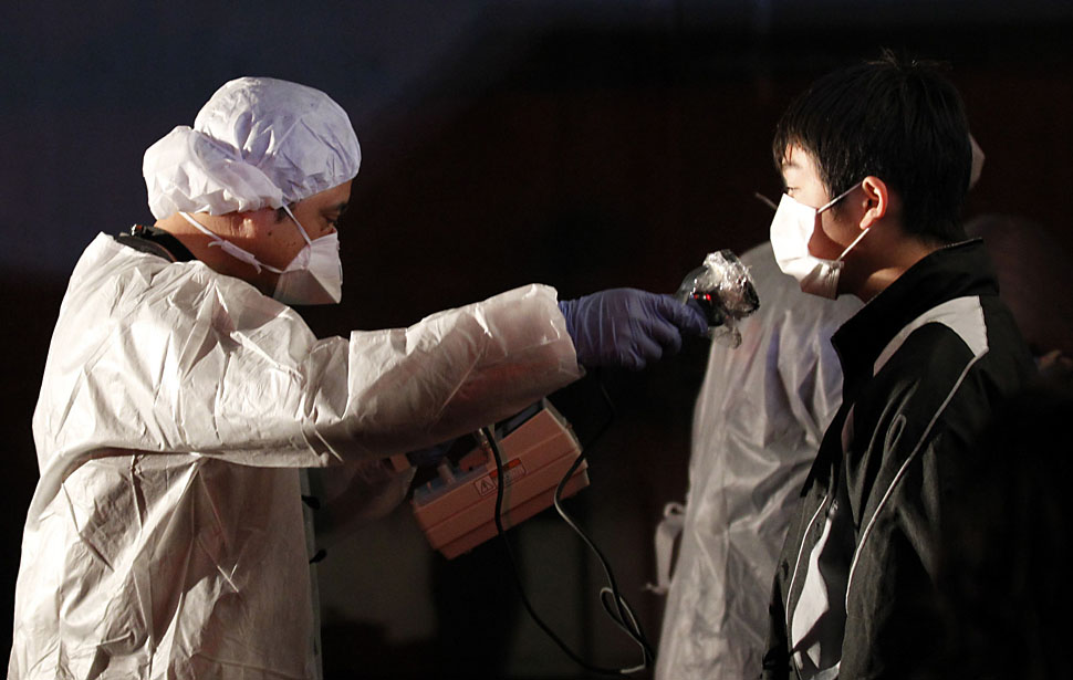 Япония в зоне радиационного риска