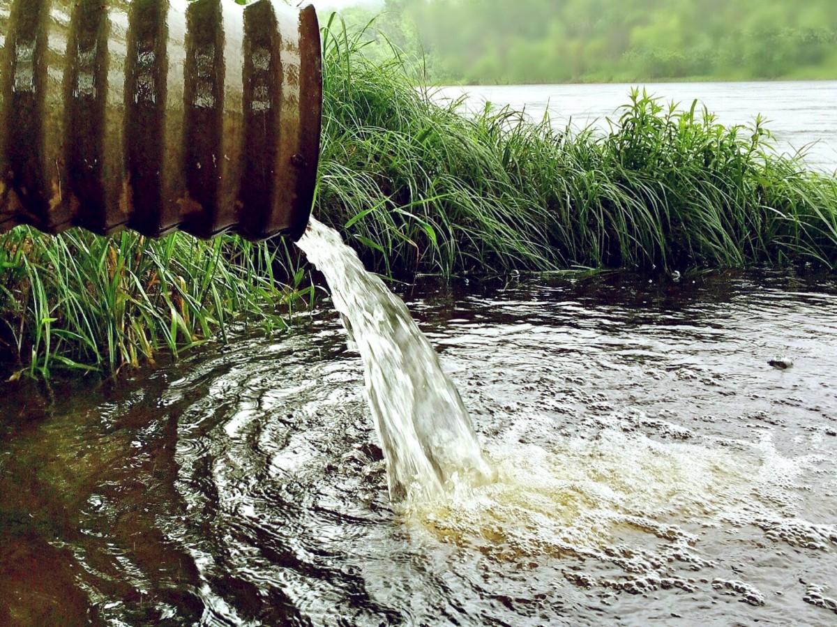 Загрязнение вод предприятиями