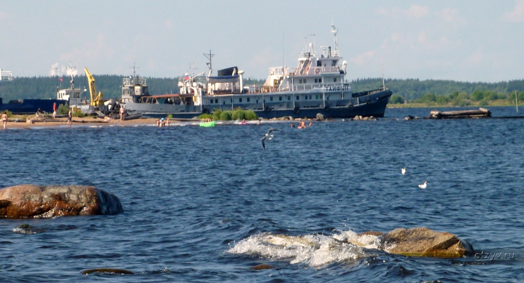судоходство в Белом море