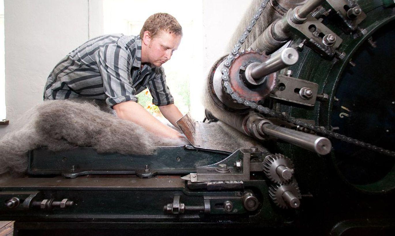 Оборудование для переработки шерсти