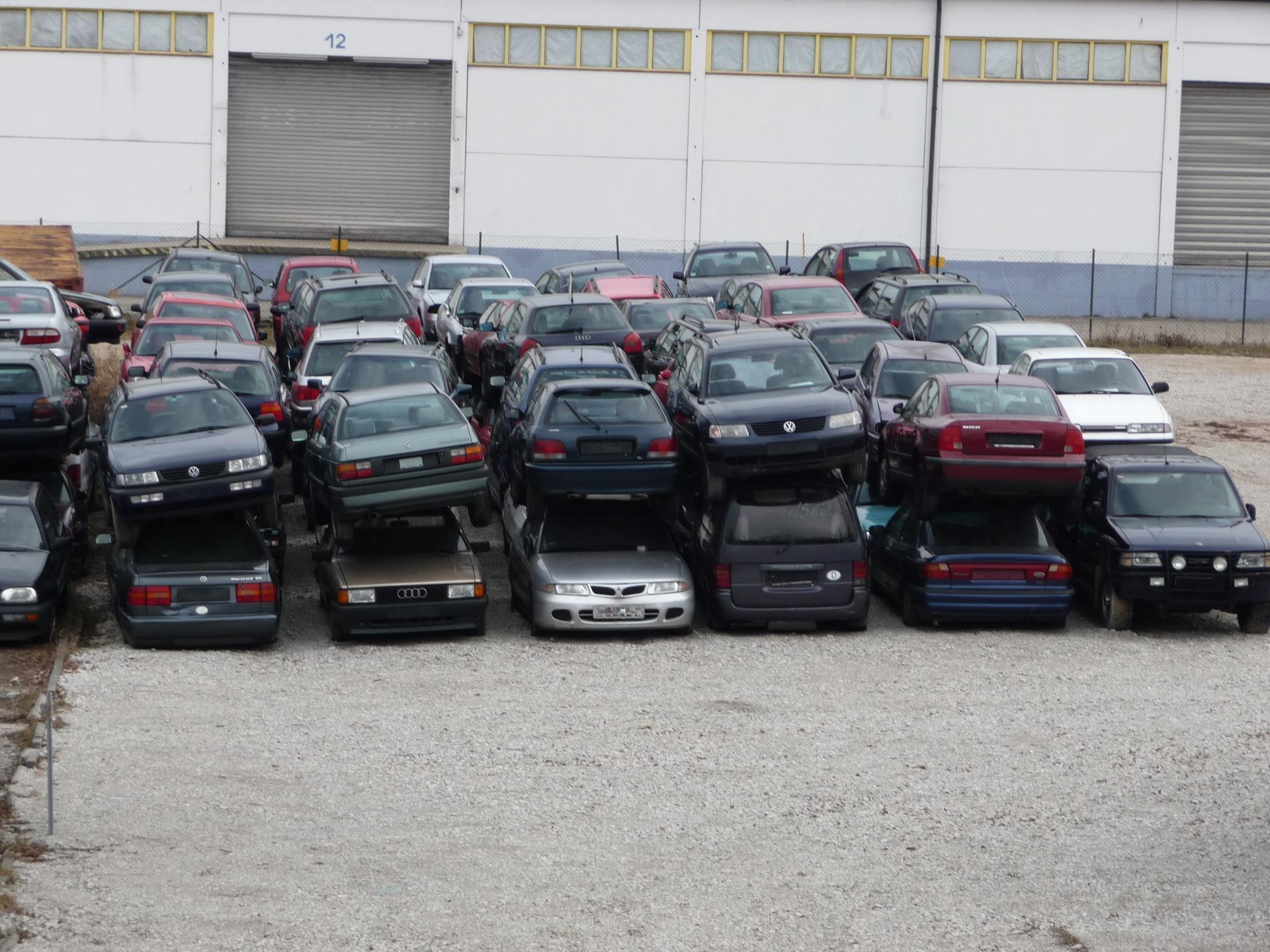 Автосвалка в Германии