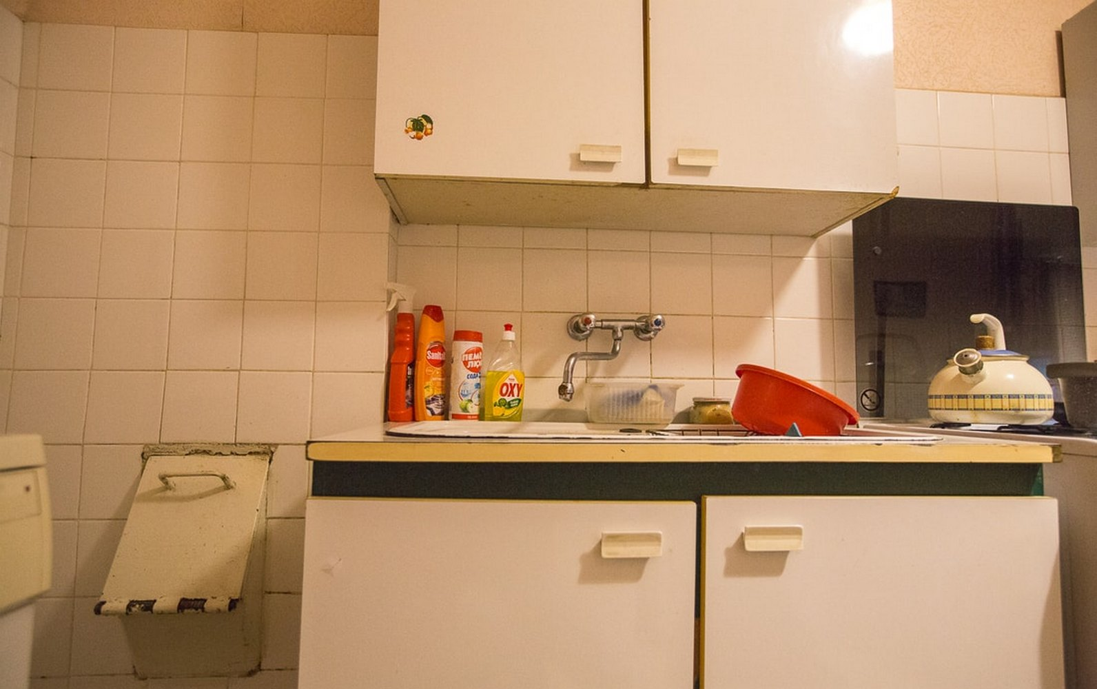 мусоропровод на кухне
