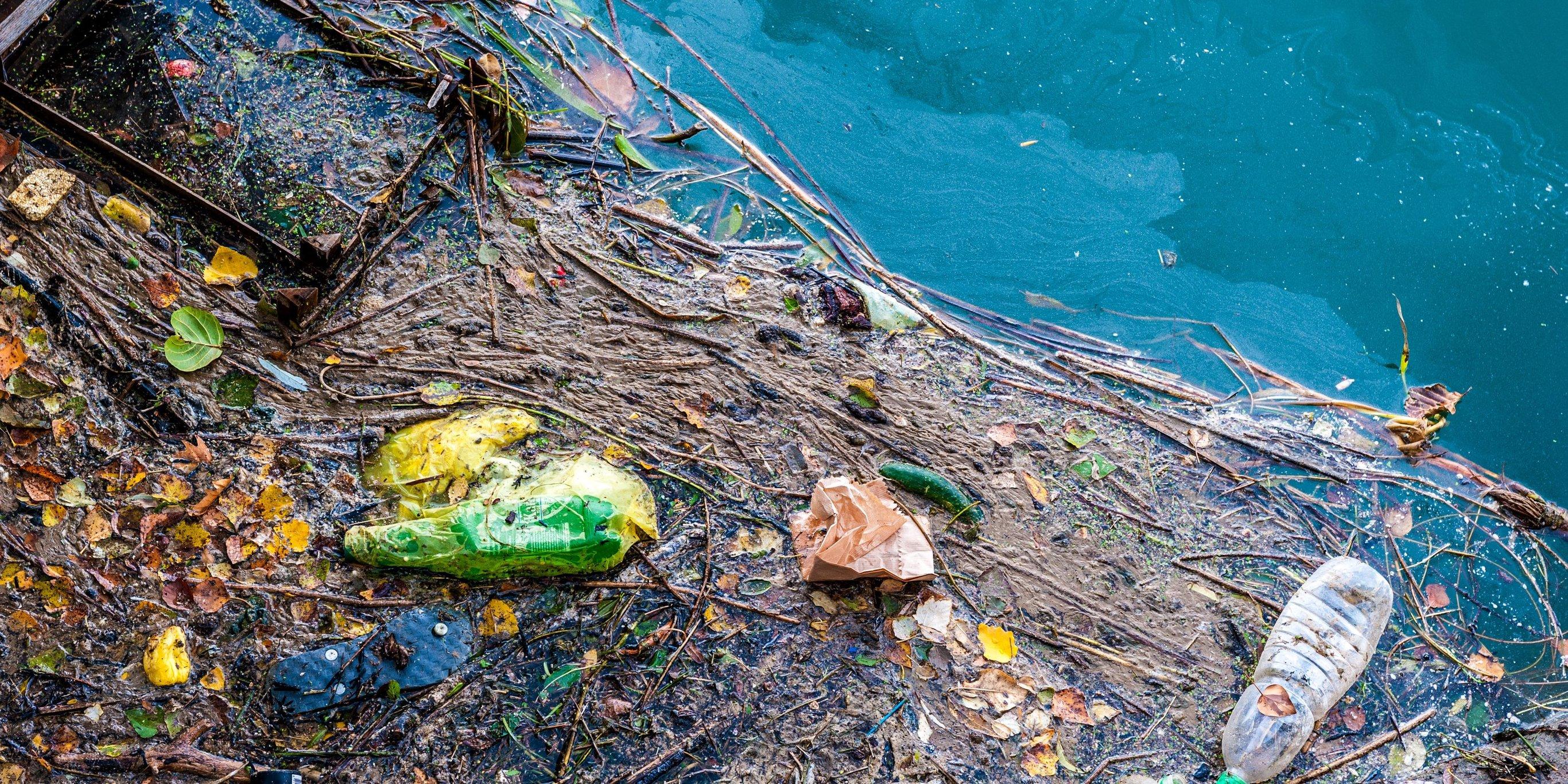 Загрязнение водоемов пластиком
