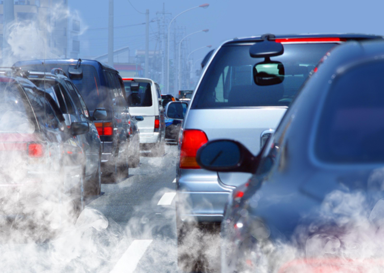 Загрязнение выхлопными газами
